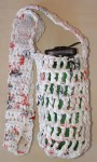 Large Plarn Water Bottle Holder