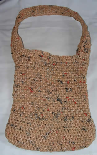 Crochet Pattern Central Bags : BAG CROCHETED MESH PATTERN TOTE - Crochet ? Learn How to ...
