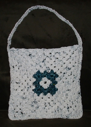 plastic bags. Crochet this