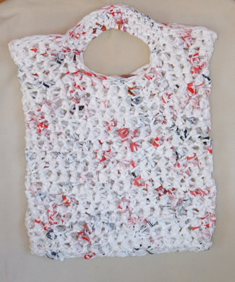 free crochet patterns using plastic bags recycled plastic bag crochet ...