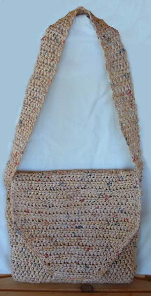 Crochet Shoulder Bag Pattern Free : Free Shoulder Bag Crochet Patterns - Shoulder Travel Bag