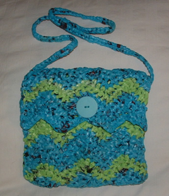 BAG CROCHET PATTERN PLASTIC - Crochet - Learn How to Crochet
