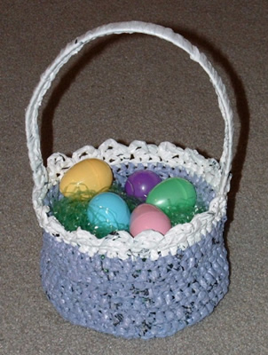 Recycled Plastic Easter Basket