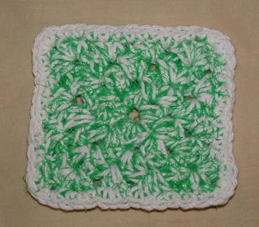 Green Scrubbie