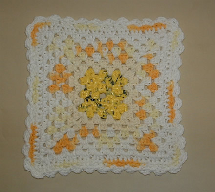 Sunshine Dishcloth 2