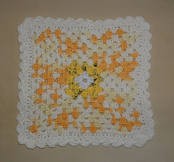 Sunshine Dishcloth