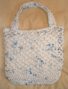 White Net Market Bag