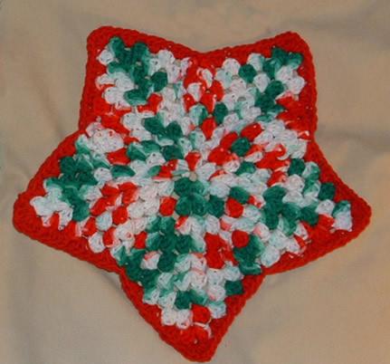 FREE CROCHET STAR DISHCLOTH PATTERN | Crochet and Knitting