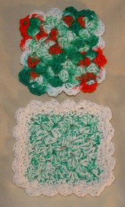 Scalloped Edged Scrubbies