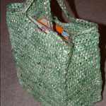 Green Shopping Bag Sideview