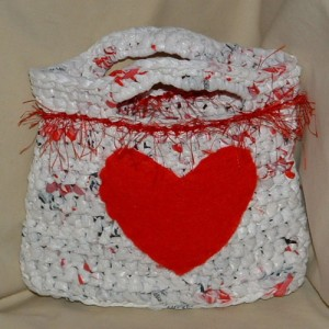 Valentine's Heart Bag