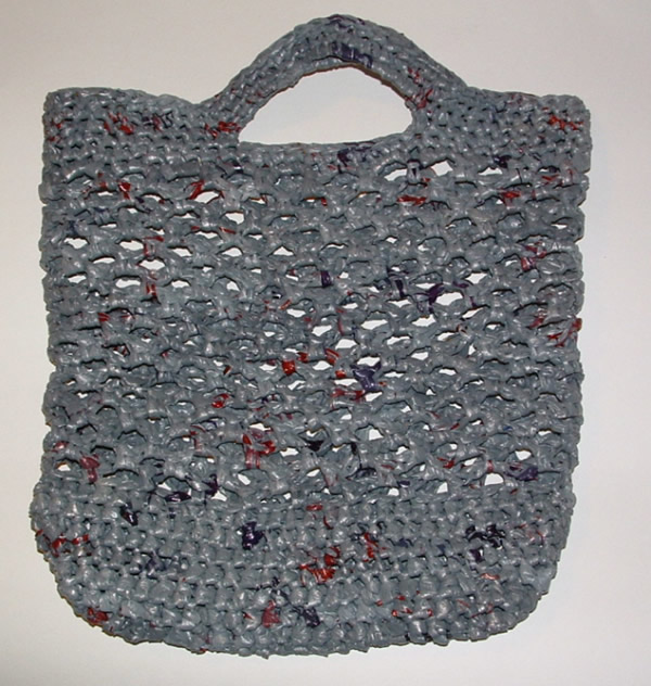 Crocheting With Plarn : Recycled Plarn Net Market Bag My Recycled Bags.com
