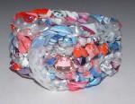Recycled Plastic Pink Bracelet