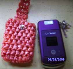 Recycled Cell Phone Holder 2