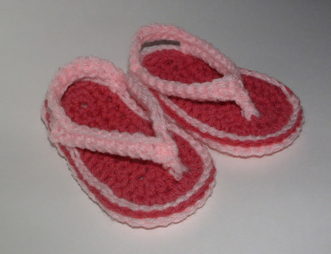 Crocheted Baby Thongs | My Recycled Bags.com