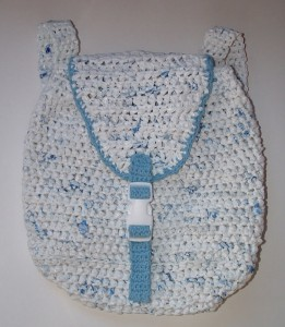 Recycled Plarn Backpack