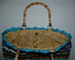 Recycled Shell Purse Inside