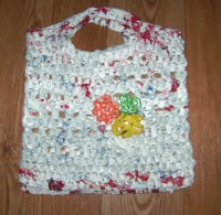 Recycled Trellis Tote Bag