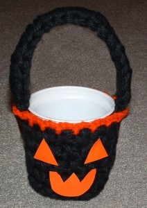 Halloween Pumpkin Yogurt Cup