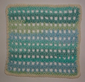 Mesh Magic Green Dishcloth