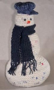 Plarn Snowman