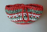 Plarn Christmas Bag