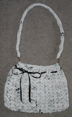 White Hobo Purse