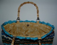 Recycled Shell Purse with Lining