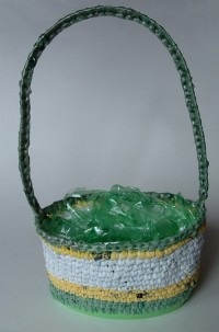 Green Easter Basket