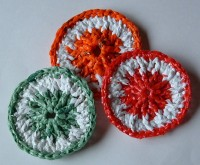 Plastic Plarn Dot Scrubbies