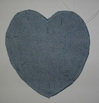 Recycled Denim Bib 5